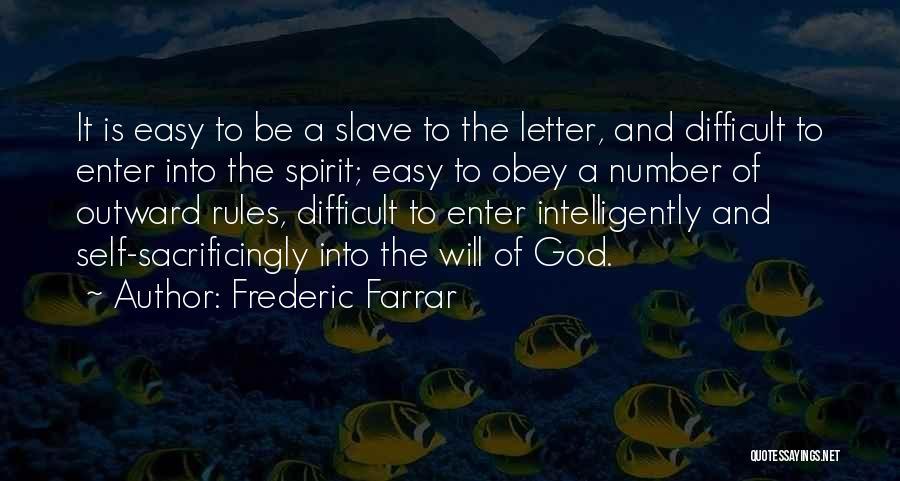 Frederic Farrar Quotes 770729