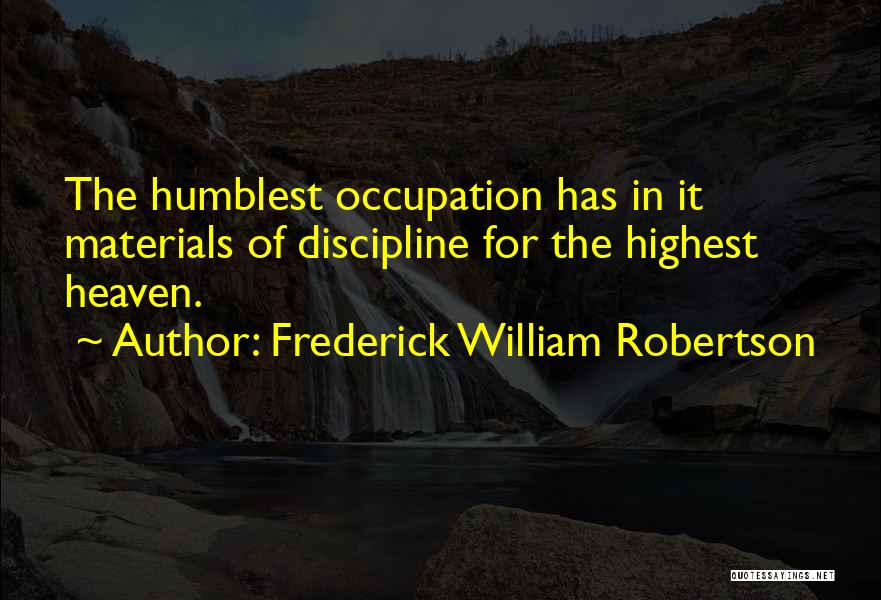 Frederick William Robertson Quotes 1547059