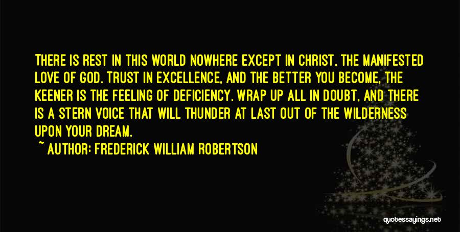 Frederick William Robertson Quotes 1812223