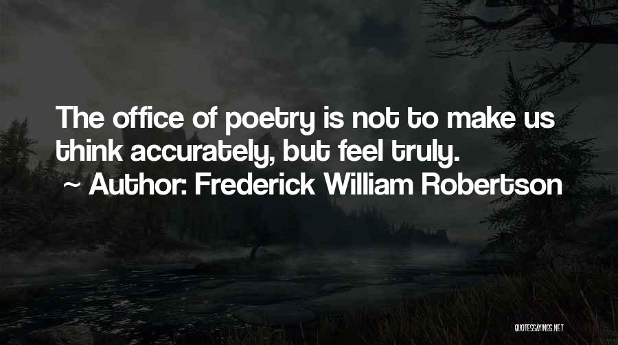 Frederick William Robertson Quotes 745958