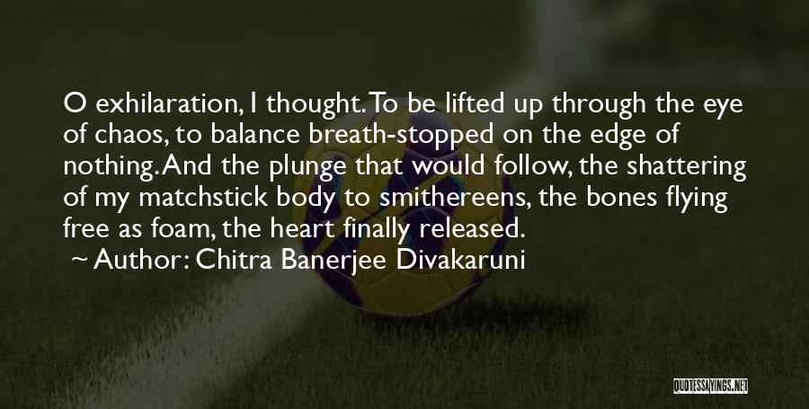 Free Flying Quotes By Chitra Banerjee Divakaruni
