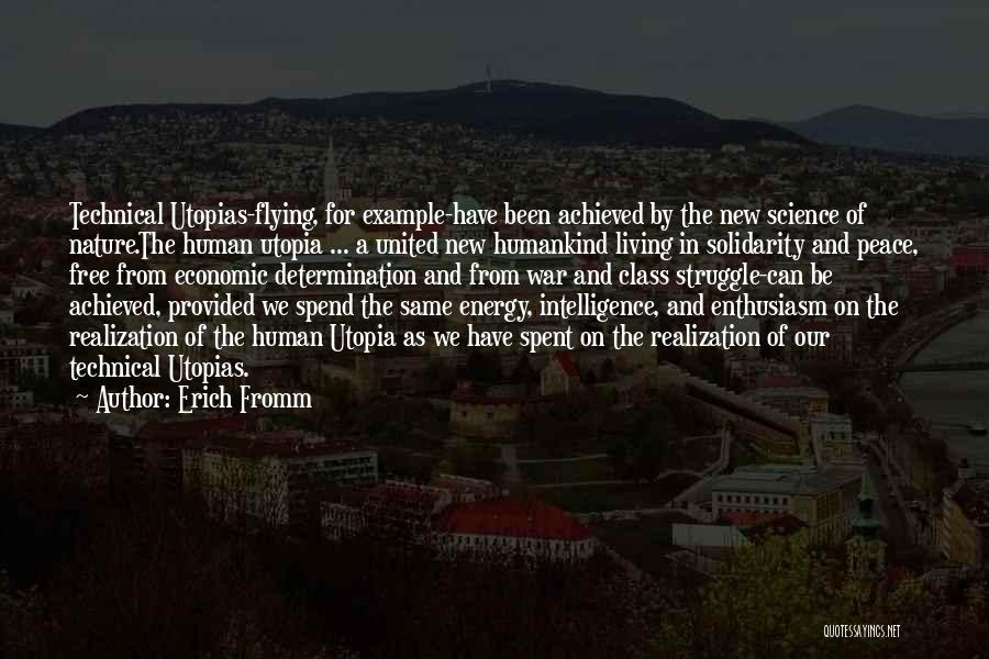Free Flying Quotes By Erich Fromm