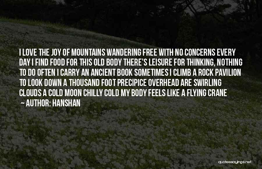 Free Flying Quotes By Hanshan