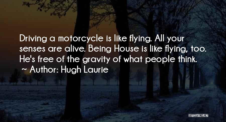 Free Flying Quotes By Hugh Laurie