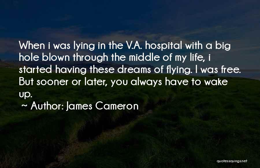 Free Flying Quotes By James Cameron