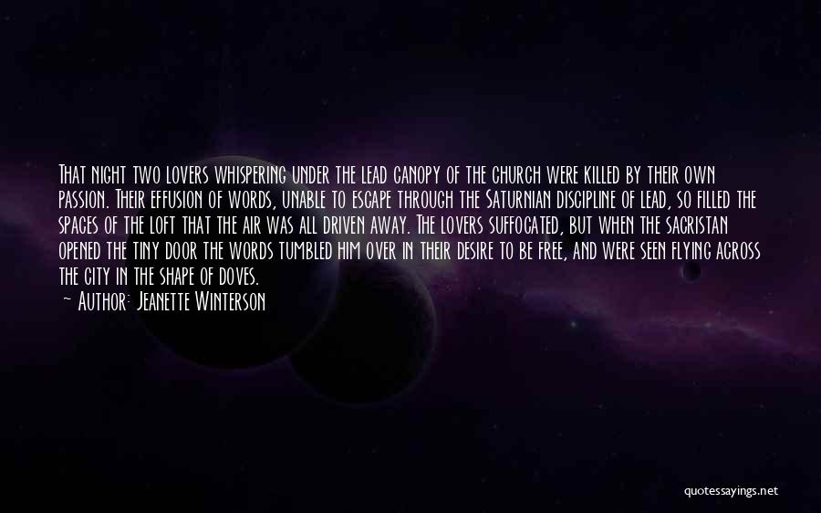 Free Flying Quotes By Jeanette Winterson