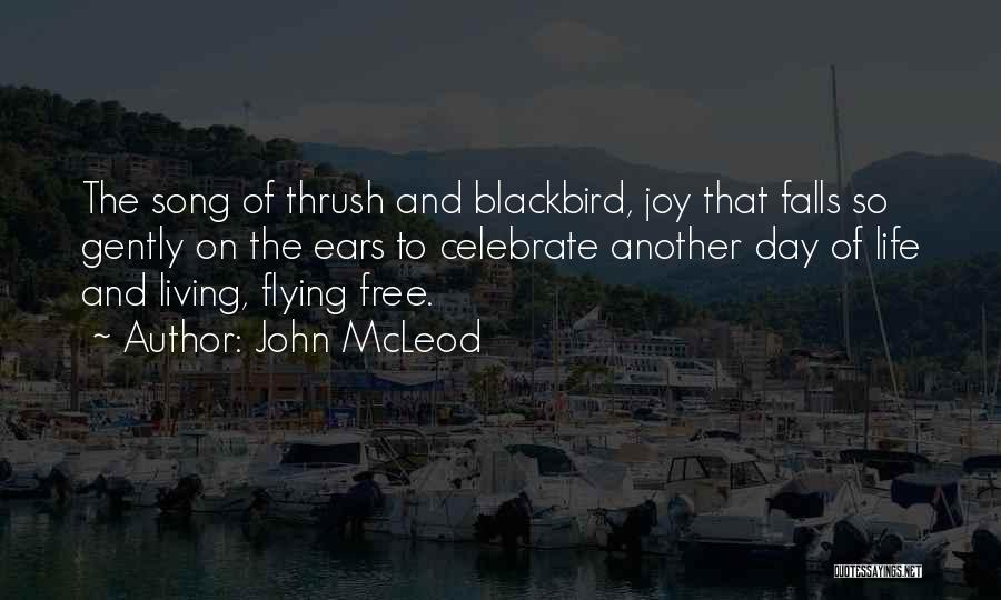 Free Flying Quotes By John McLeod