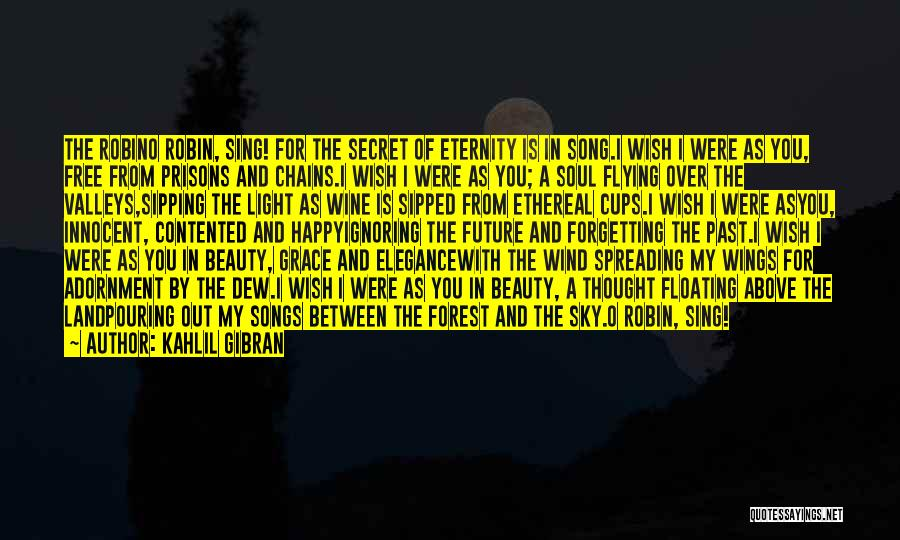 Free Flying Quotes By Kahlil Gibran
