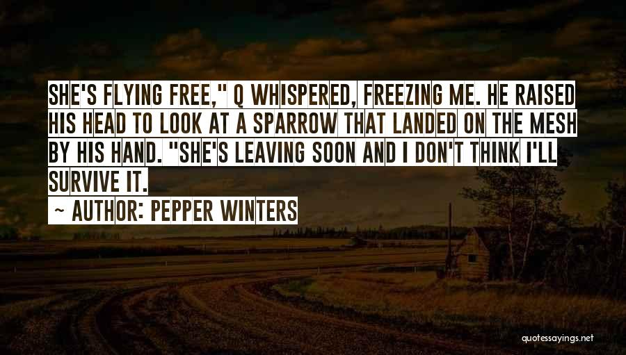 Free Flying Quotes By Pepper Winters