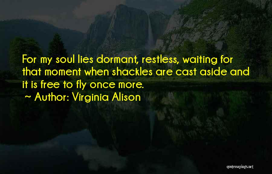 Free Flying Quotes By Virginia Alison
