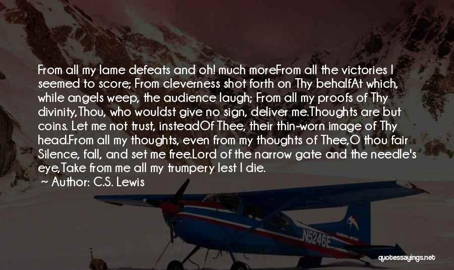Free From Quotes By C.S. Lewis