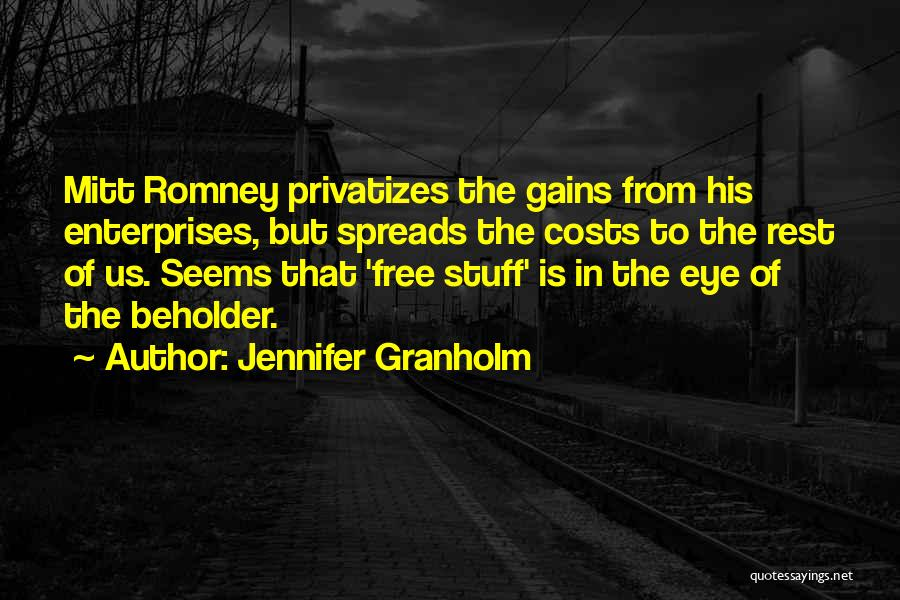 Free From Quotes By Jennifer Granholm
