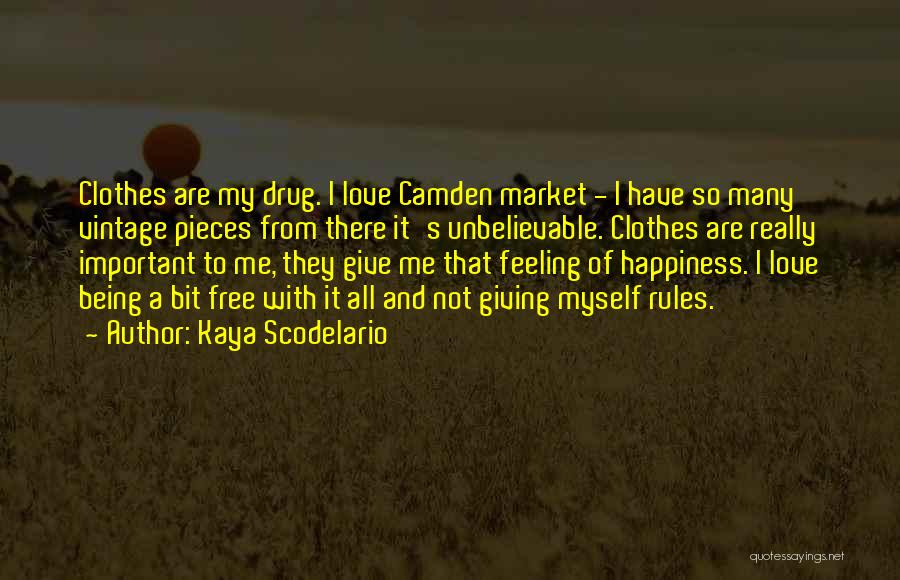 Free From Quotes By Kaya Scodelario