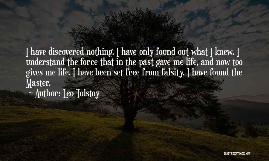 Free From Quotes By Leo Tolstoy
