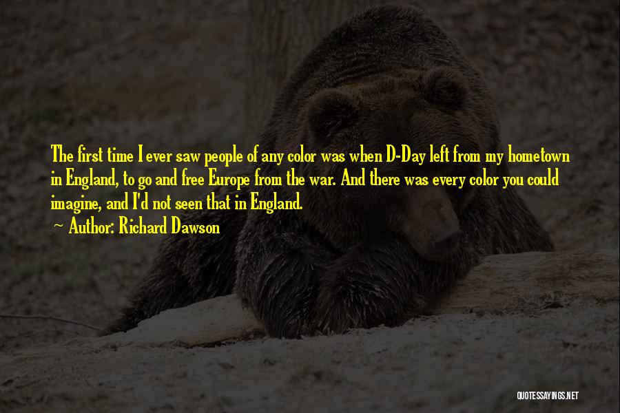 Free From Quotes By Richard Dawson