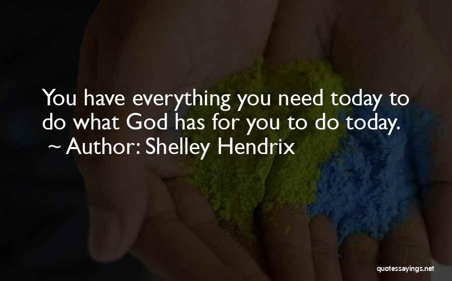 Free From Stress Quotes By Shelley Hendrix