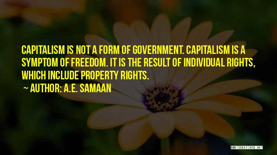 Free Market Quotes By A.E. Samaan