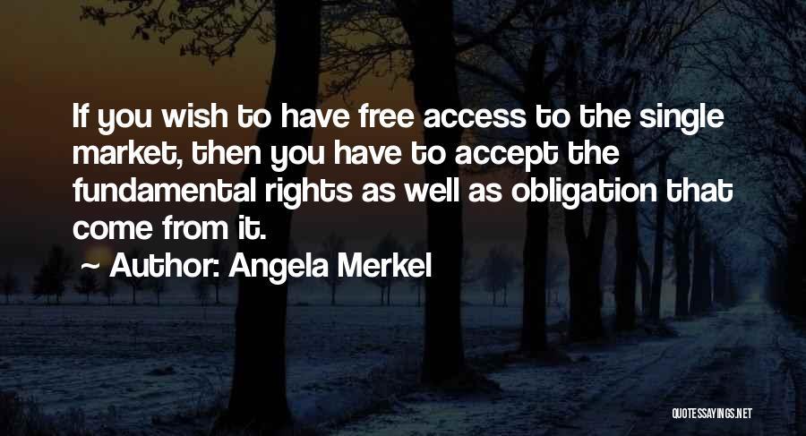 Free Market Quotes By Angela Merkel
