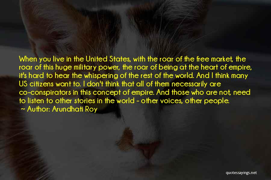 Free Market Quotes By Arundhati Roy