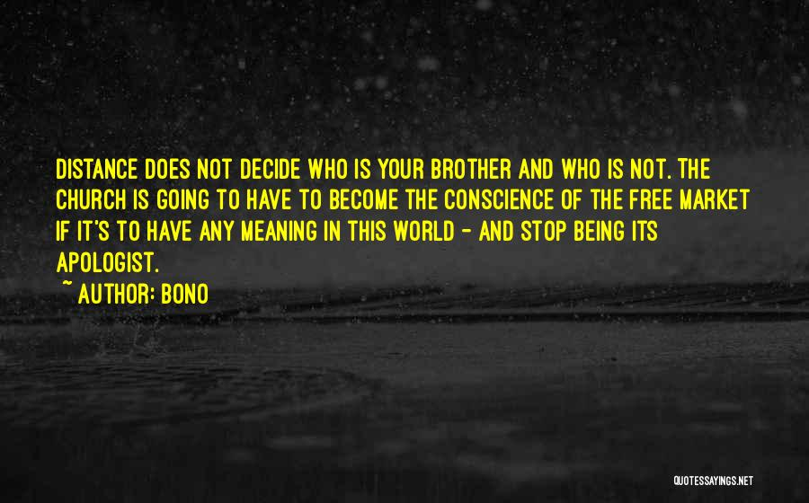 Free Market Quotes By Bono