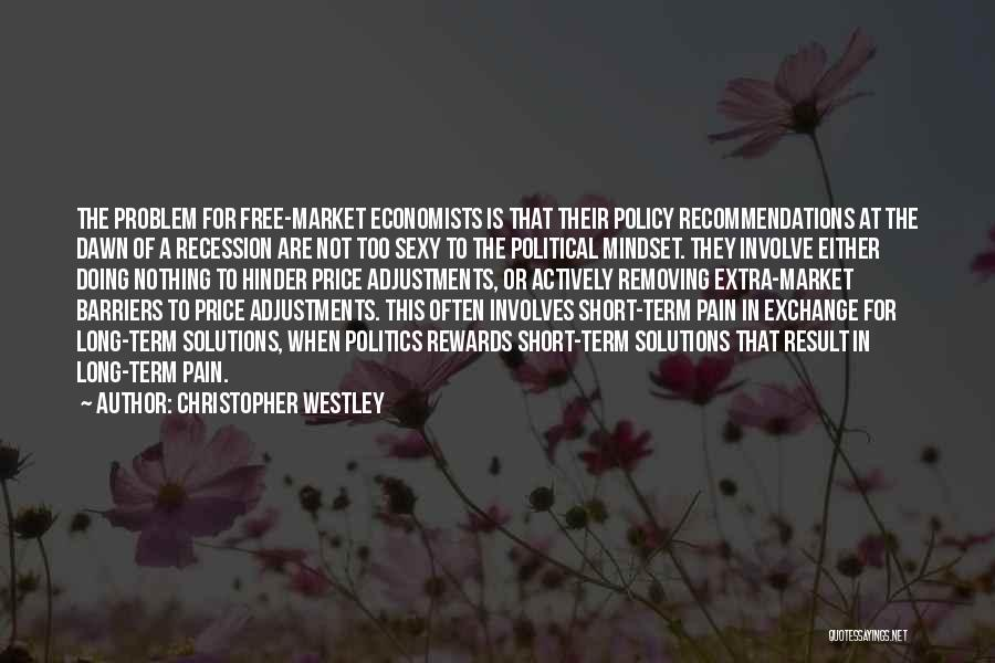 Free Market Quotes By Christopher Westley