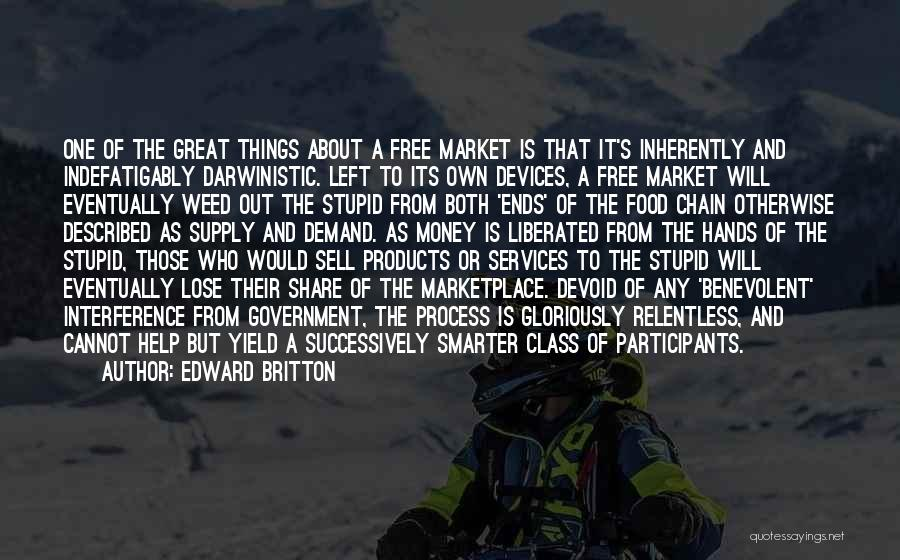 Free Market Quotes By Edward Britton