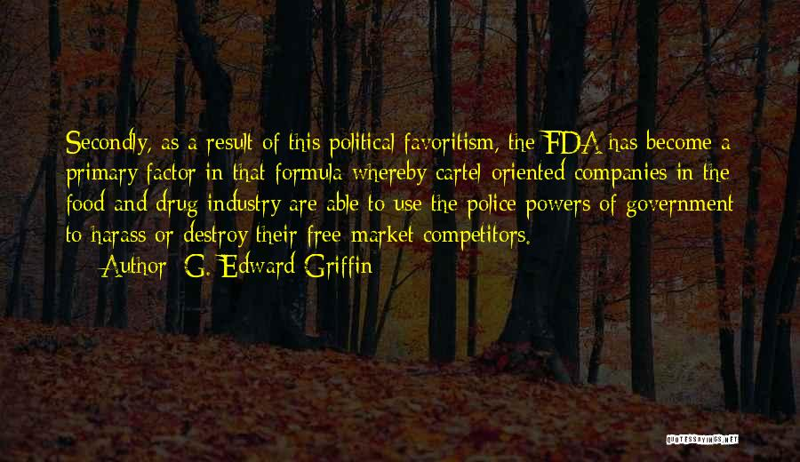 Free Market Quotes By G. Edward Griffin