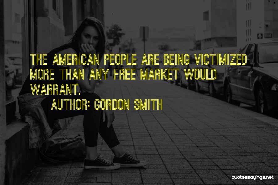 Free Market Quotes By Gordon Smith