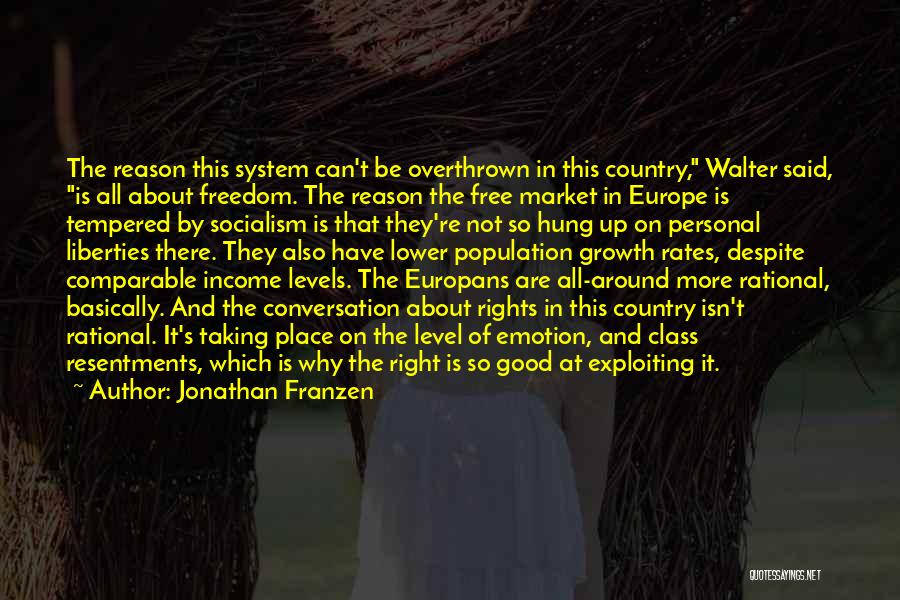Free Market Quotes By Jonathan Franzen