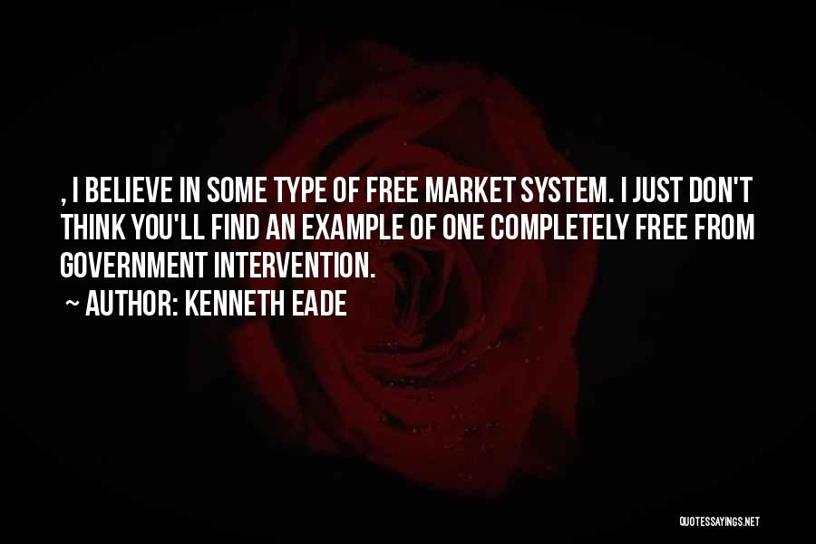 Free Market Quotes By Kenneth Eade