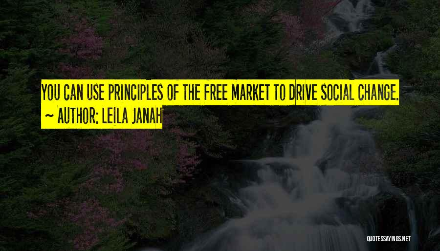 Free Market Quotes By Leila Janah