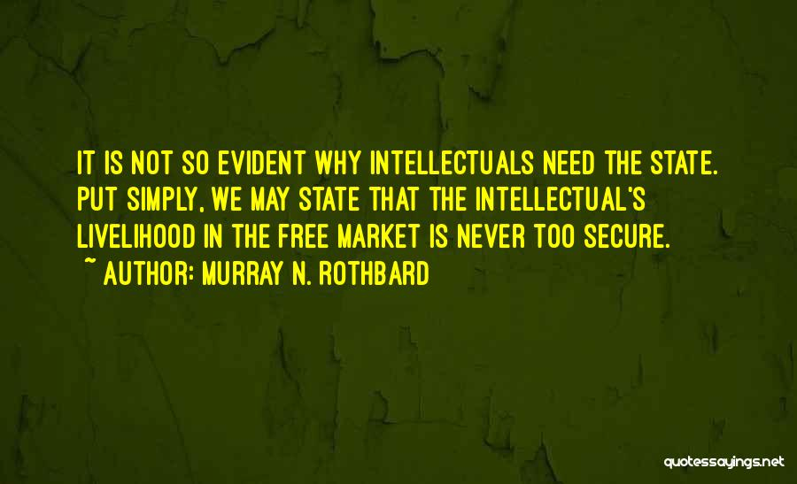 Free Market Quotes By Murray N. Rothbard