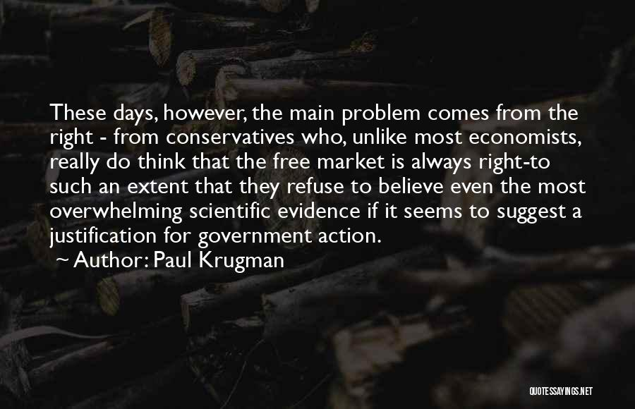 Free Market Quotes By Paul Krugman