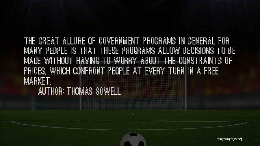 Free Market Quotes By Thomas Sowell