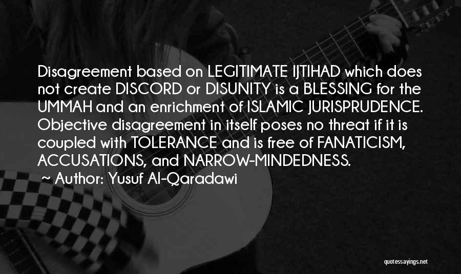 Free Mindedness Quotes By Yusuf Al-Qaradawi