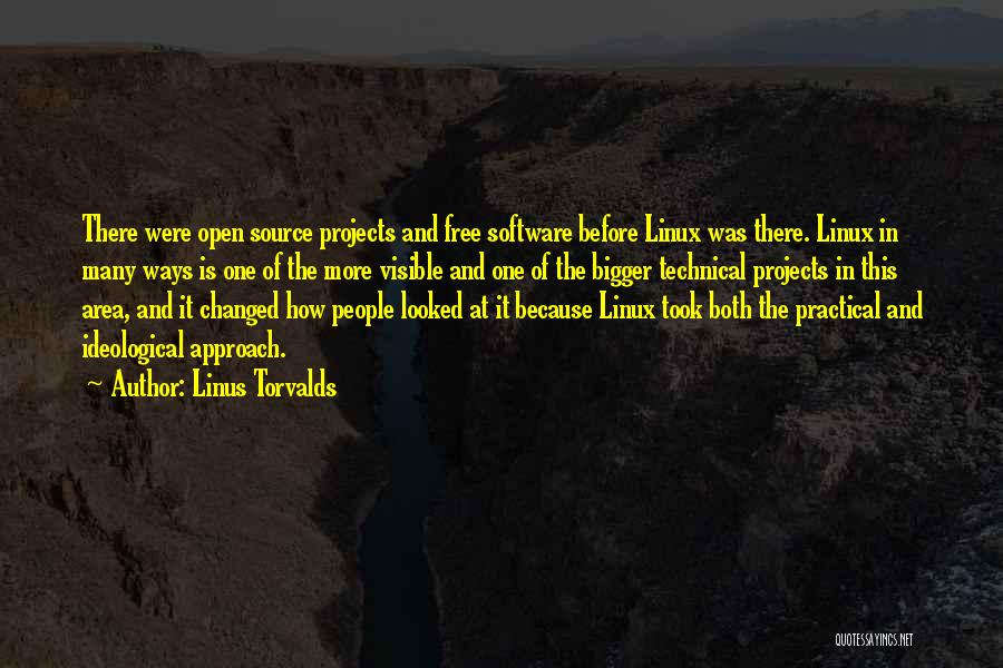 Free Open Source Quotes By Linus Torvalds