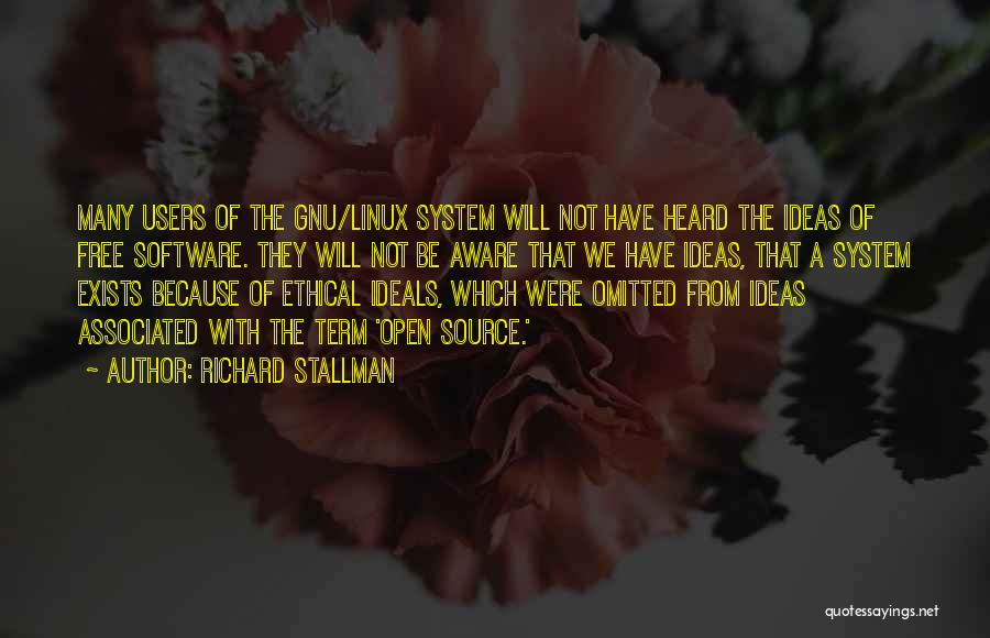 Free Open Source Quotes By Richard Stallman