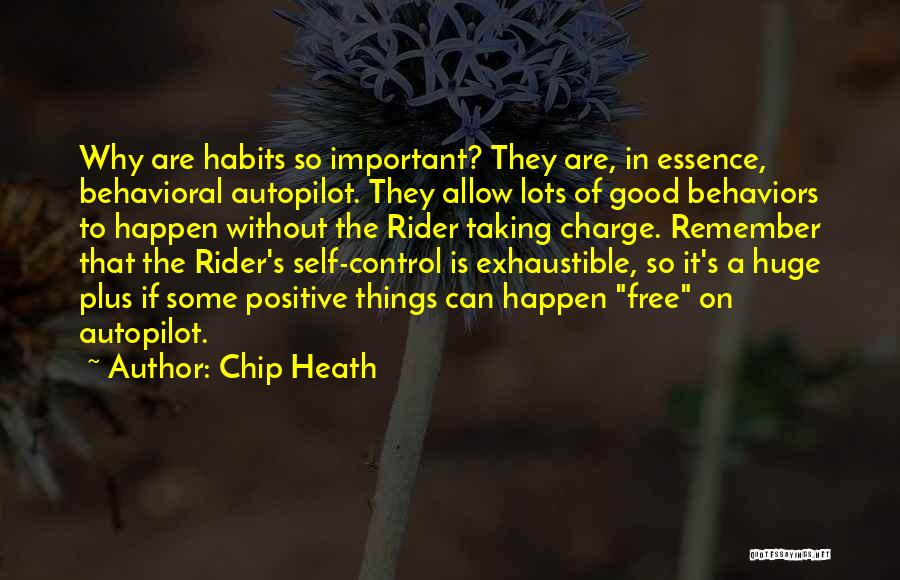 Free Rider Quotes By Chip Heath