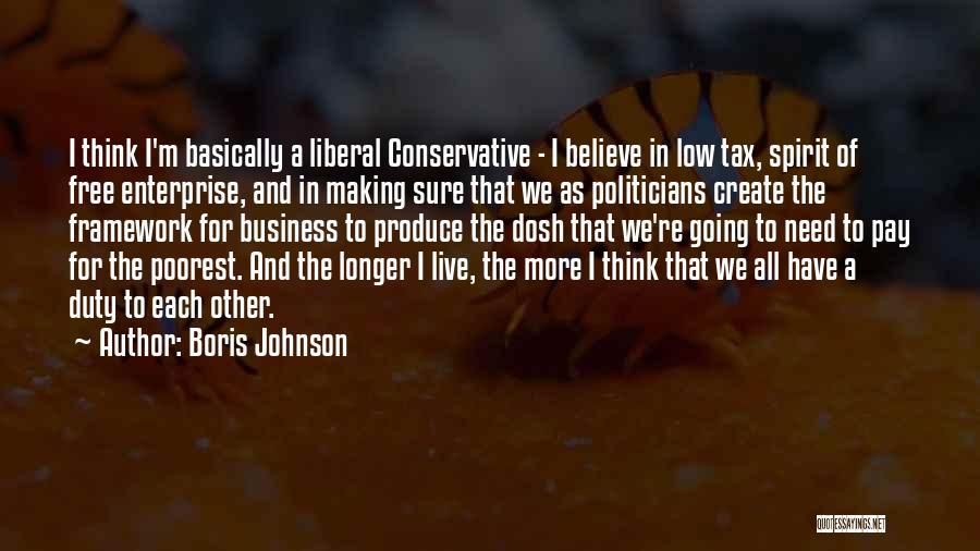Free Spirit Quotes By Boris Johnson