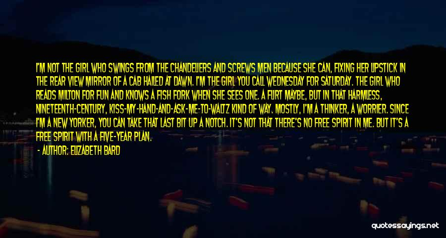 Free Spirit Quotes By Elizabeth Bard