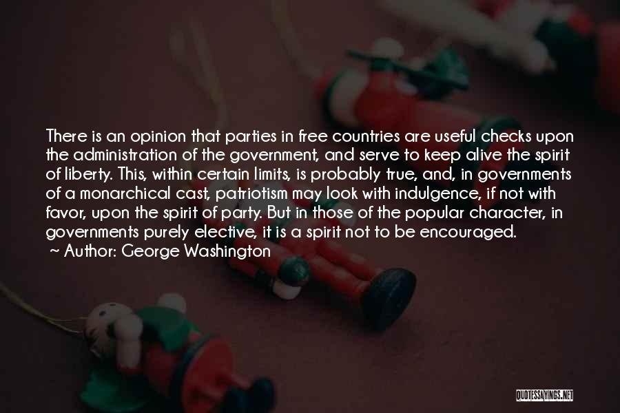 Free Spirit Quotes By George Washington