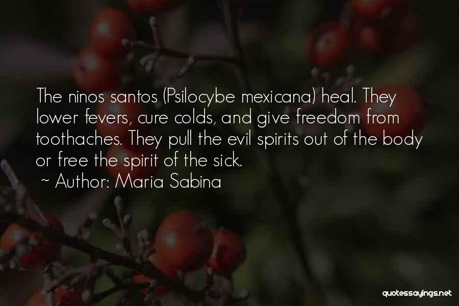 Free Spirit Quotes By Maria Sabina