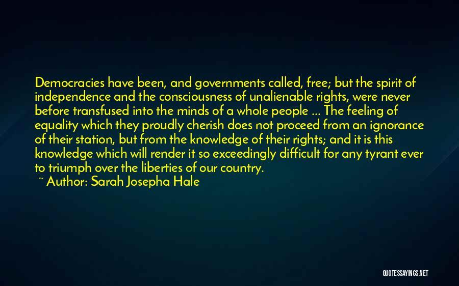 Free Spirit Quotes By Sarah Josepha Hale