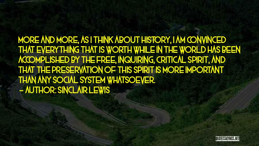 Free Spirit Quotes By Sinclair Lewis