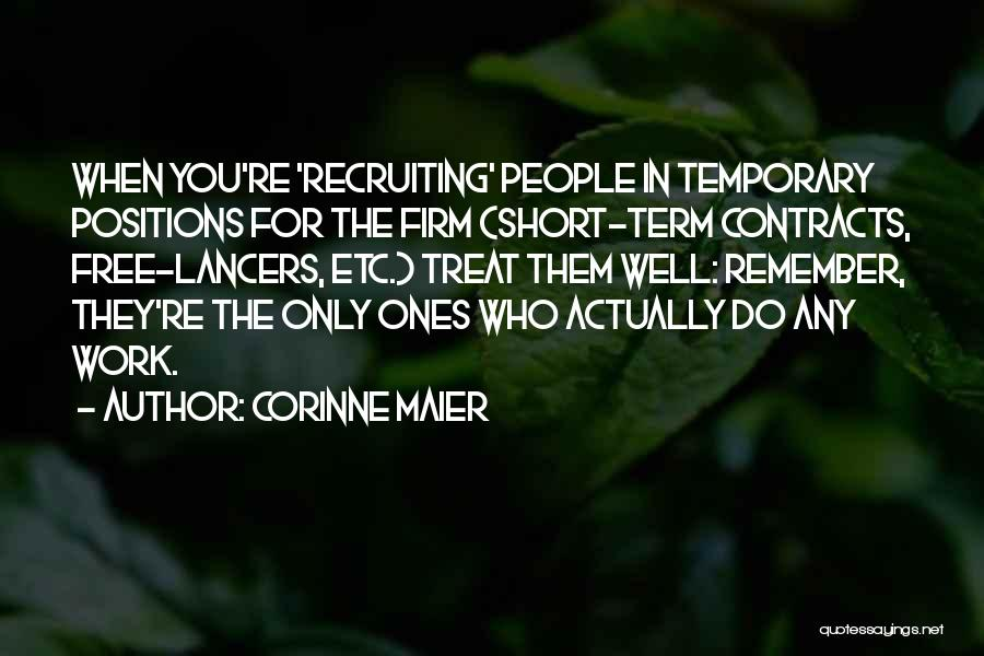 Free Term Quotes By Corinne Maier