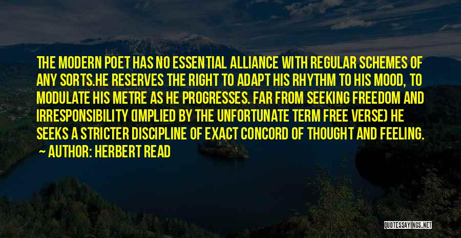 Free Term Quotes By Herbert Read