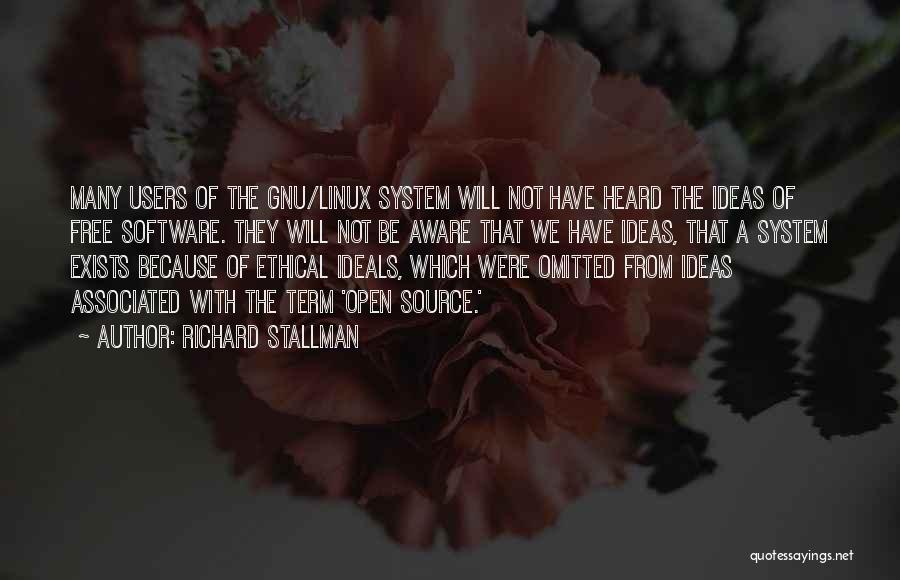 Free Term Quotes By Richard Stallman