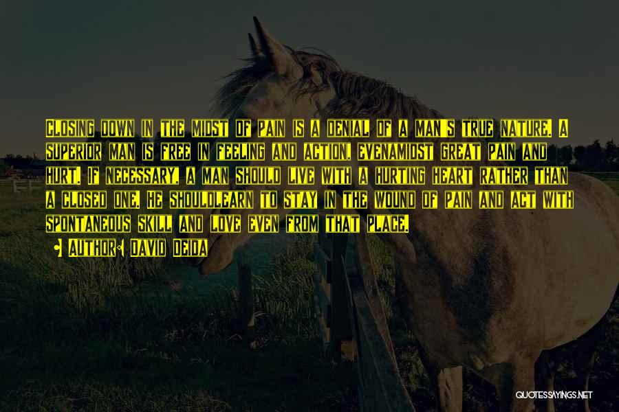Free To Live Quotes By David Deida