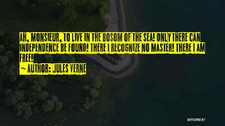 Free To Live Quotes By Jules Verne