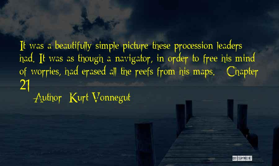 Free Your Mind From Worries Quotes By Kurt Vonnegut
